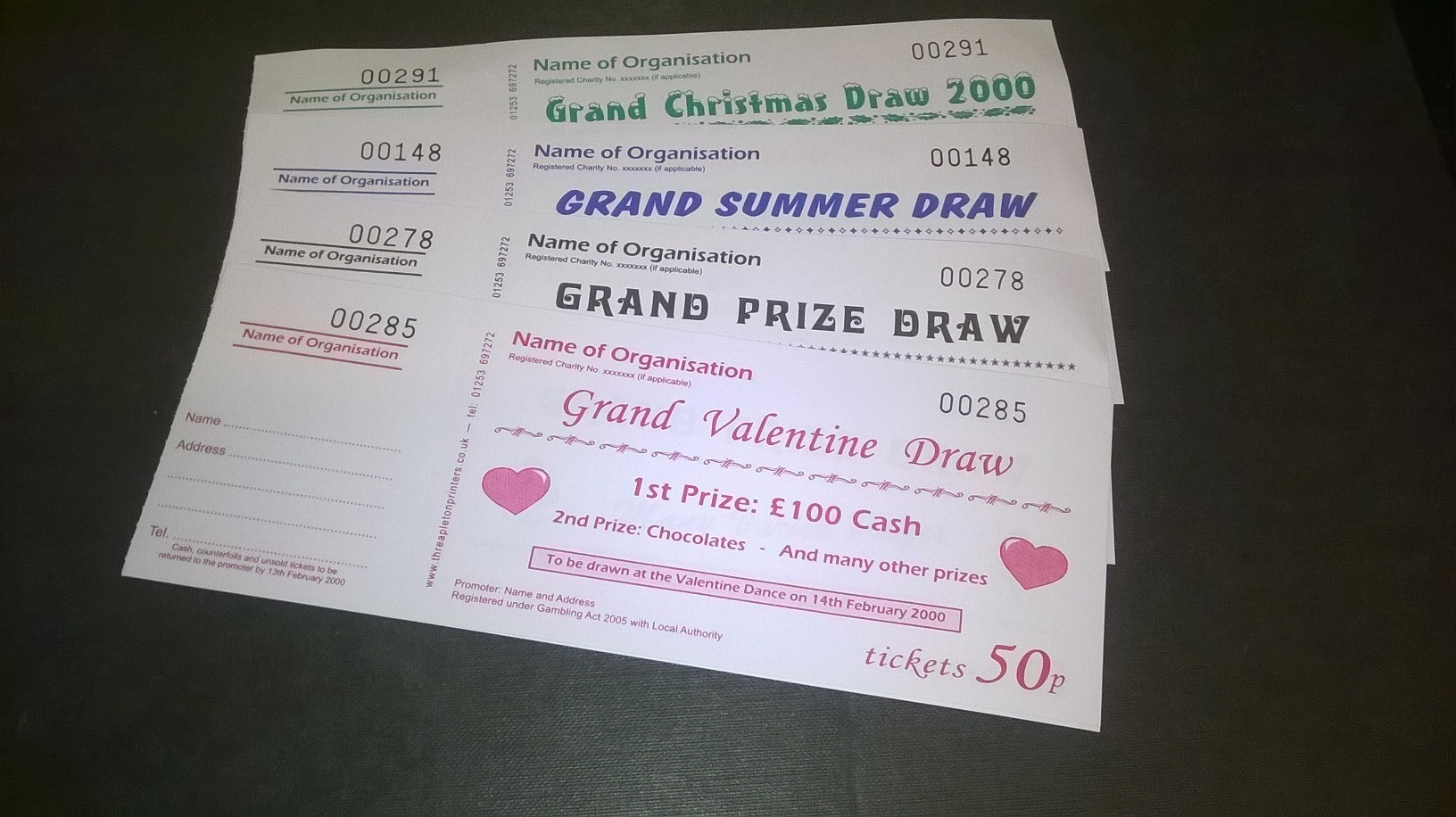 raffle ticket solutions about your fundraising needs